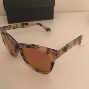 Wildfox Tortoise Sunglasses Pink Lenses